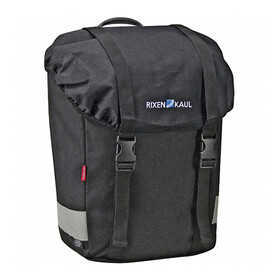 KlickFix Classic Lowrider Gepäckträgertasche schwarz